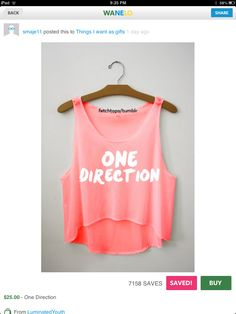 One Direction from Luminated Youth One Direction Shirts, One Direction Images, One Direction Outfits, Fresh Tops, Make Your Own Clothes, Red Shirt, Summer Outfits, Things I Want, Crop Tops