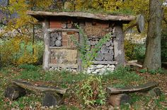 File:Insektenhotel am Waldhaus Durbeke im siebten Jahr.jpg