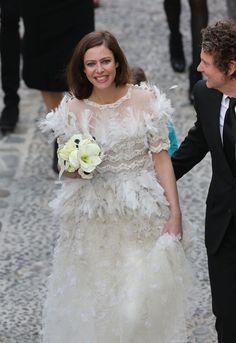La boda de Anna Mouglalis #boda #famosos #chanel