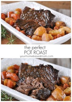 the perfect pot roast from your homebased mom