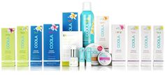Coola Sun Protection.  Try the mineral sunscreen with zinc.  We like the little bit of tint it has...almost like light make-up