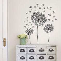 Wall Pops Dandelion Small Wall Art Kit - Beyond the Rack