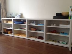 Montessori Shelf with limited space