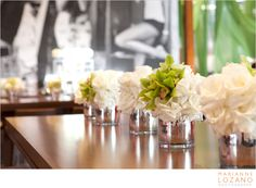 Tic Tock Couture Florals - If These Petals Could Talk - Guess 30th Anniversary Parties: Part 2