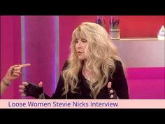 Loose Women Stevie Nicks Interview - YouTube