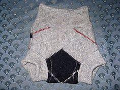 DIY wool diaper covers.