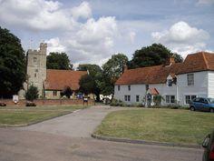 St Nicholas' Church and cottages in Tillingham
