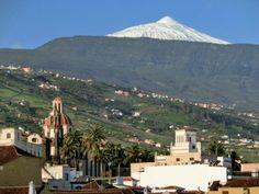 El Teide desde La Orotava. (Tenerife). Canarias. Spain.