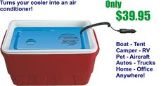 12 Volt Air Conditioner - Portable Air Conditioner  $39.95