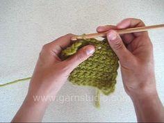 DROPS Crochet Tutorial: How to crochet a picot -  2
