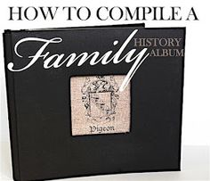 "Family Heritage Scrapbook Ideas ""How to Compile a Family History Album"" ~ I like her layout ideas. Simple and clean with lots of journaling and digital freebies from Creative Memories. Of course, I'll be using StoryBook Creator for mine. Family Tree Book, Family History Book, Family Album, Family Trees, Book Tree, Heritage Scrapbook Pages, Genealogy Organization, History Projects, Art History"