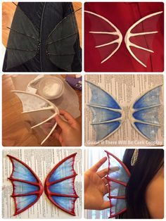 So I've been asked more than a few times how I made the fins for Undyne, and I actually compiled a tutorial to our facebook cosplay page a while ago. Full instructions under the cut, or you can go to...