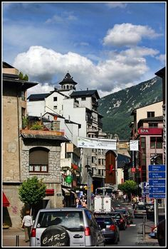 Andorra la Vella, side trip from Barcelona. Maybe, depending on the route to Italy.