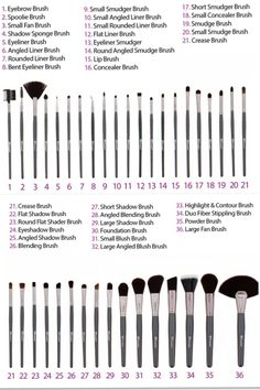 Bh cosmetics advanced brush set