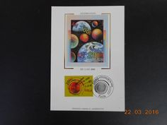 Carte Maximum - Célébration de l an 2000 - 5/7/1999 Paris