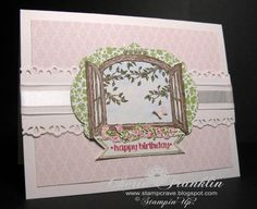 Sweet Cottage Window by stampcrave - Cards and Paper Crafts at Splitcoaststampers