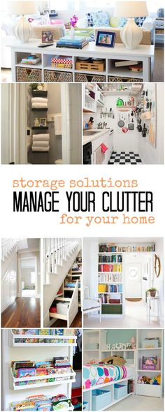 Kerry Angelos | Manage Your Clutter: Storage Solutions For Your Home | http://kerryrangelos.com