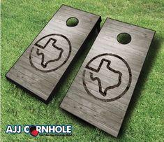 Texas Cornhole Set With Bags Cornhole Set Texas by ShopCornhole