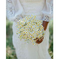 Un bouquet de marguerite pour se marier
