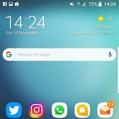 Il nuovo pillolone di Google con Android 7 su @samsungitalia #galaxys7edge #s7edgenougat #android7 #tw #fb