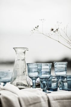 SPRING glassware | Interior design by Eightmood | IL MARE SS16