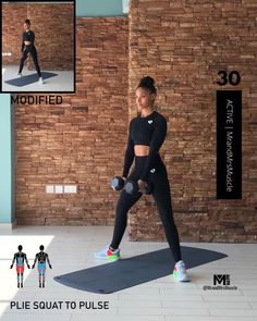 Fitness Workouts, Full Body Hiit Workout, Gym Workout Videos, Gym Workout For Beginners, Fitness Workout For Women, Butt Workout, Fun Workouts, At Home Workouts, Fitness Motivation