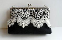 Bolsos de boquilla vintage hechos a mano. http://lolitasala.es