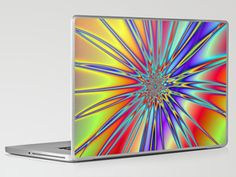 Broken Rainbow Laptop & iPad Skin by Objowl - $30.00