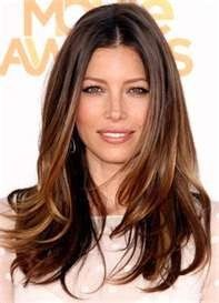 Jessica Biel Ombre Hair Color This is my new hair color ! and style ! Hair Color Highlights, Ombre Hair Color, Hair Colour, Honey Highlights, Subtle Highlights, Balayage Highlights, Auburn Highlights, Ombre Style, Auburn Balayage