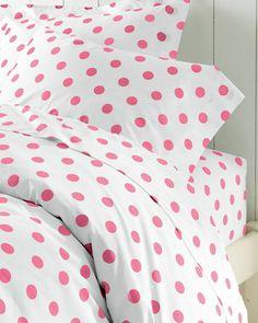Dot to Dot Percale Bedding