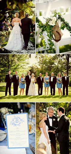 I really just love this whole wedding...