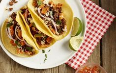 SPC's Meal Plan is up! Recipes and printable meal plans are waiting for you - tacos, slow cooker butter chicken and more.