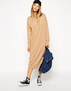 Enlarge ASOS Midi Dress In Knit