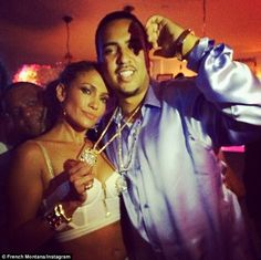 I Luh Ya Papi: The star changed her look and posed with French Montana, who has featured on her songs