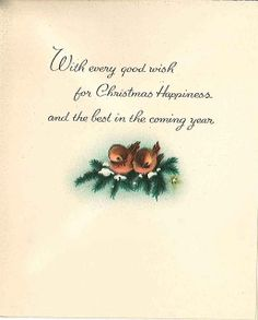 Very Merry Vintage Syle: Little Pink Angel Vintage Christmas Card