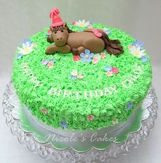Confections, Cakes & Creations!: Pretty Pony Party Cake