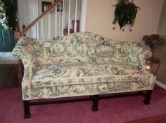 Slipcover For Camelback Sofa