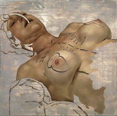 Going Under The Knife: Beautifully Grotesque Paintings Of Cosmetic Surgery | Transformation