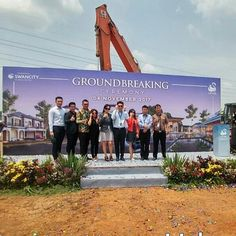 Ground Breaking Ceremony right after 2 months of 1st Grand Launching. Bring it on! Work hard Have fun Make History . . .  #groundbreaking #lavon #swancity #megaproject #UrbanAce #bringingrealestateonline #realtor #advisor #friend #digital #marketing #investment #business #market #leaders #property #propertyforsale #landedhome #rumahdijual #jualrumah #cikupa #pasarkemis #tangerang #jakartaevent #latepost #teamup #investor #localrealtors - posted by Lavon Urbanace…