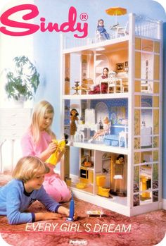 56 ideas toys for girls barbie kids for 2019 80s Girl Toys, Toys For Girls, 1980s Childhood, My Childhood Memories, Barbie Kids, Sindy Doll, 80s Kids, Retro Toys, 1980s Toys