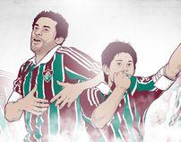 Fluminense F.C. | Ídolos da Atualidade by Rodrigo W. R. Rezende, via Behance