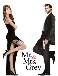 Mr. and Mrs. Grey. I made this because I feel they should really do an action film together <3