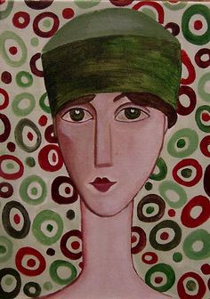 The Green Hat by Anni Morris