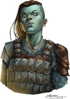 Stulga. Runs the pit in the West End slums. Will ask the party to go collect a debt for her if they want to get a meeting with Amarius. Will go with them to meet Amarius.