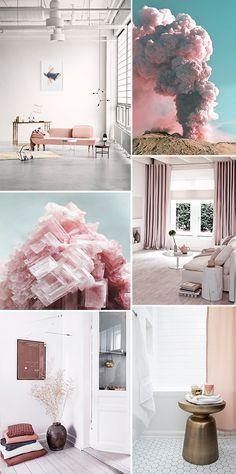 inspirational pink art and decor / sfgirlbybay