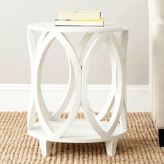 Have to have it. Safavieh Janika Accent Table - Off White - $247.99 @hayneedle.com