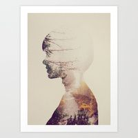 Art Prints featuring In The Woods by Andreas Lie - Society web shop