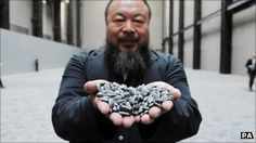 """Maybe being powerful means being fragile..."" Ai Weiwei on being Art Review Magazine's most powerful artist in the world"