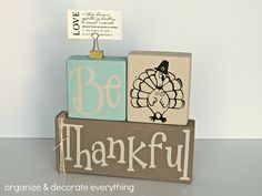Fall/Thanksgiving Double Stacker - Organize and Decorate Everything