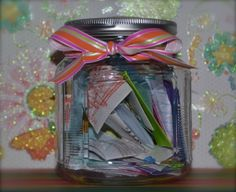 1/1 New Year's Day  Memory Jar – Never Too Late To Start One